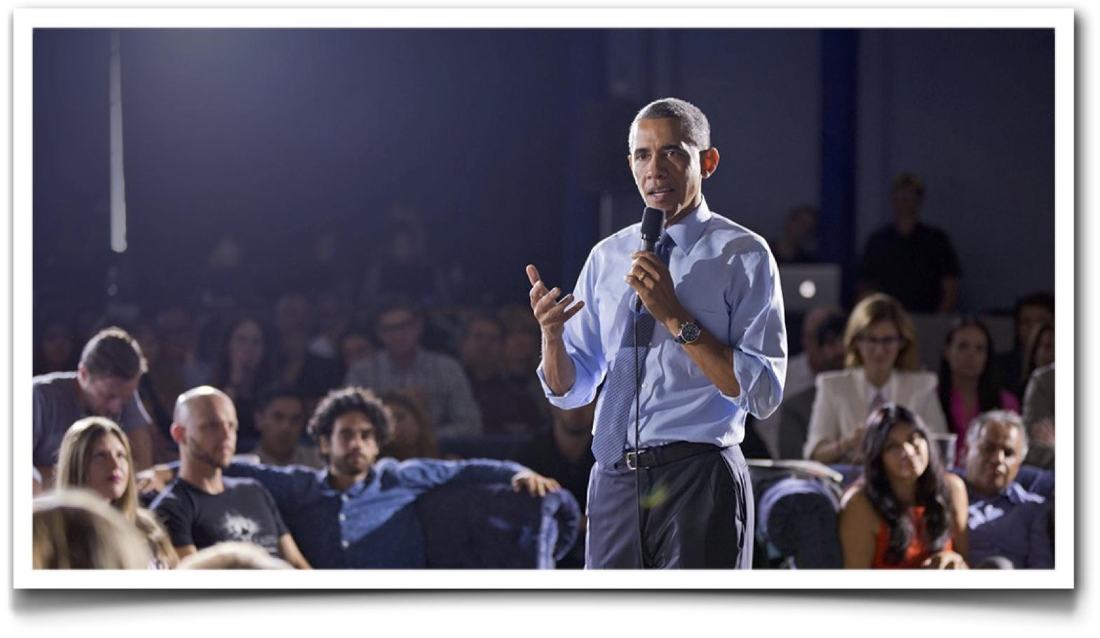 Obama - Speech on Net Neutrality
