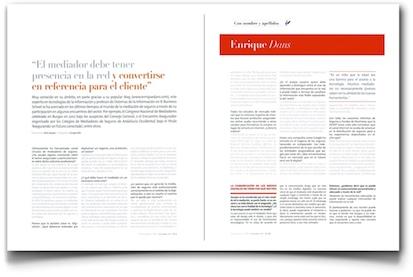 Entrevista diciembre 2014 - Aseguradores