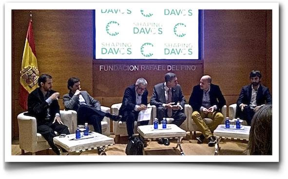 Shaping Davos debate (IMAGE: Stephan Fuetterer)