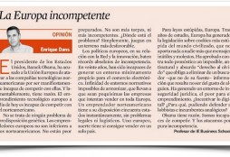 Europa incompetente - Expansion