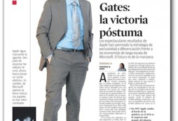 Jobs contra Gates - La Vanguardia