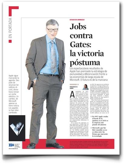 Jobs contra Gates: la victoria póstuma - La Vanguardia (pdf)