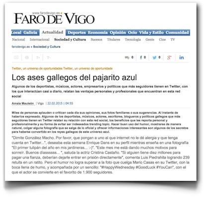 Los ases gallegos del pajarito azul - Faro de Vigo (pdf)