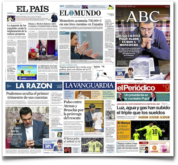 Spanish printed press