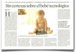 bebe tecnologico - La Vanguardia