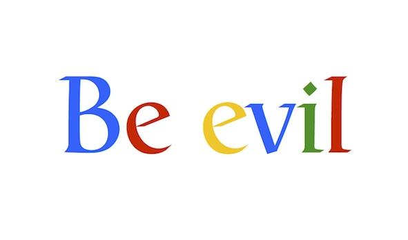 Be evil
