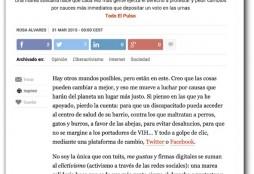 Clicktivismo - El Pais