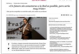 Entrevista La Voz de Galicia