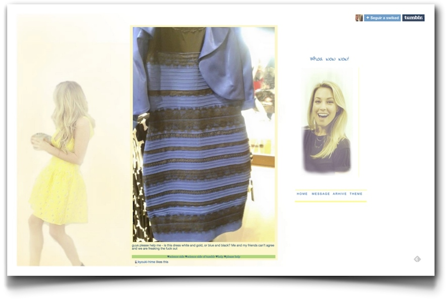 TheDress original Tumblr post
