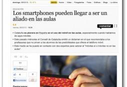 smartphones y aulas - La Informacion