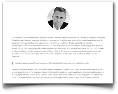 """""""Los videoclubs online españoles no funcionan"""", Enrique Dans - MacToday"""