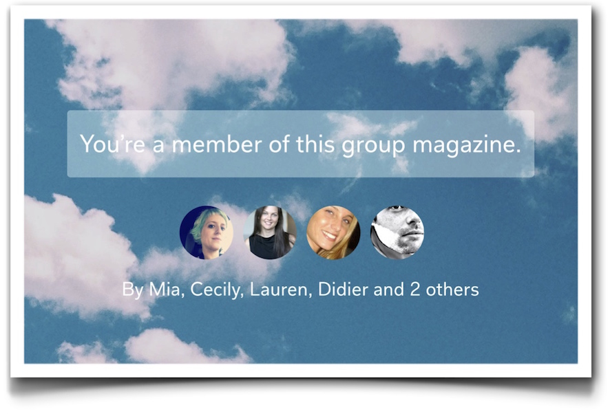 Flipboard groups