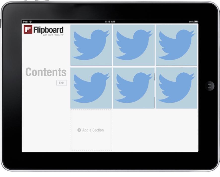 Flipboard and Twitter