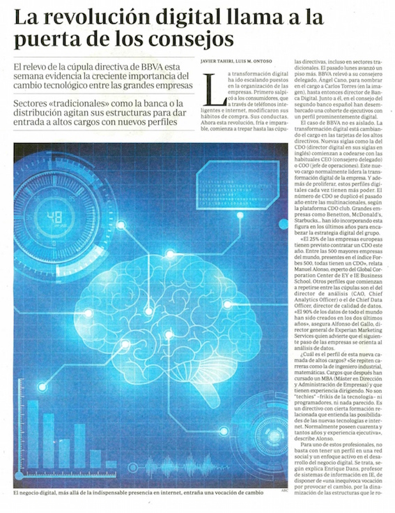 La revolución digital llama a la puerta de los consejos - ABC (pdf)