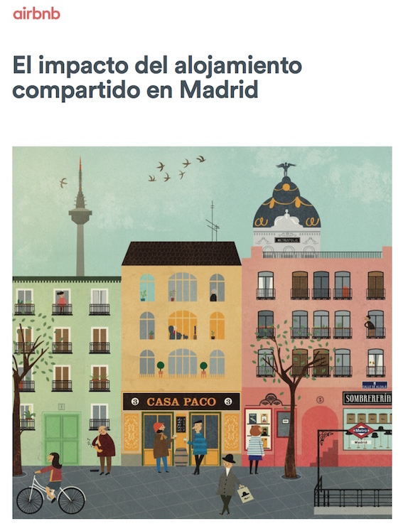 El impacto del alojamiento compartido en Madrid - Airbnb