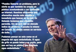 Reed Hastings on piracy