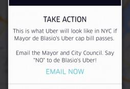 Uber DeBlasio