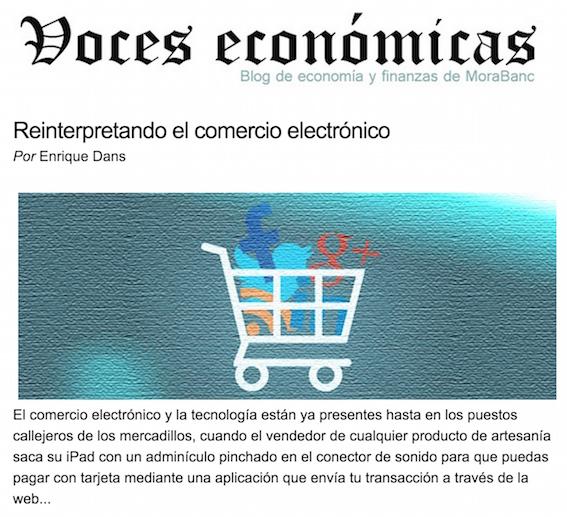 Reinterpretando el comercio electrónico - Voces Económicas