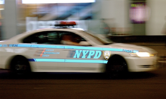 NYPD speed (IMAGE: EDans)