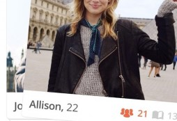 Tinder page