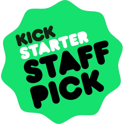Kickstarter Staff Pick badge