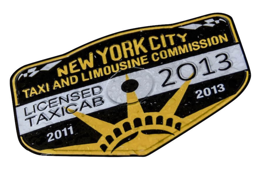 NYC taxi medallion