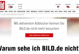 Disable adblocker - Bild