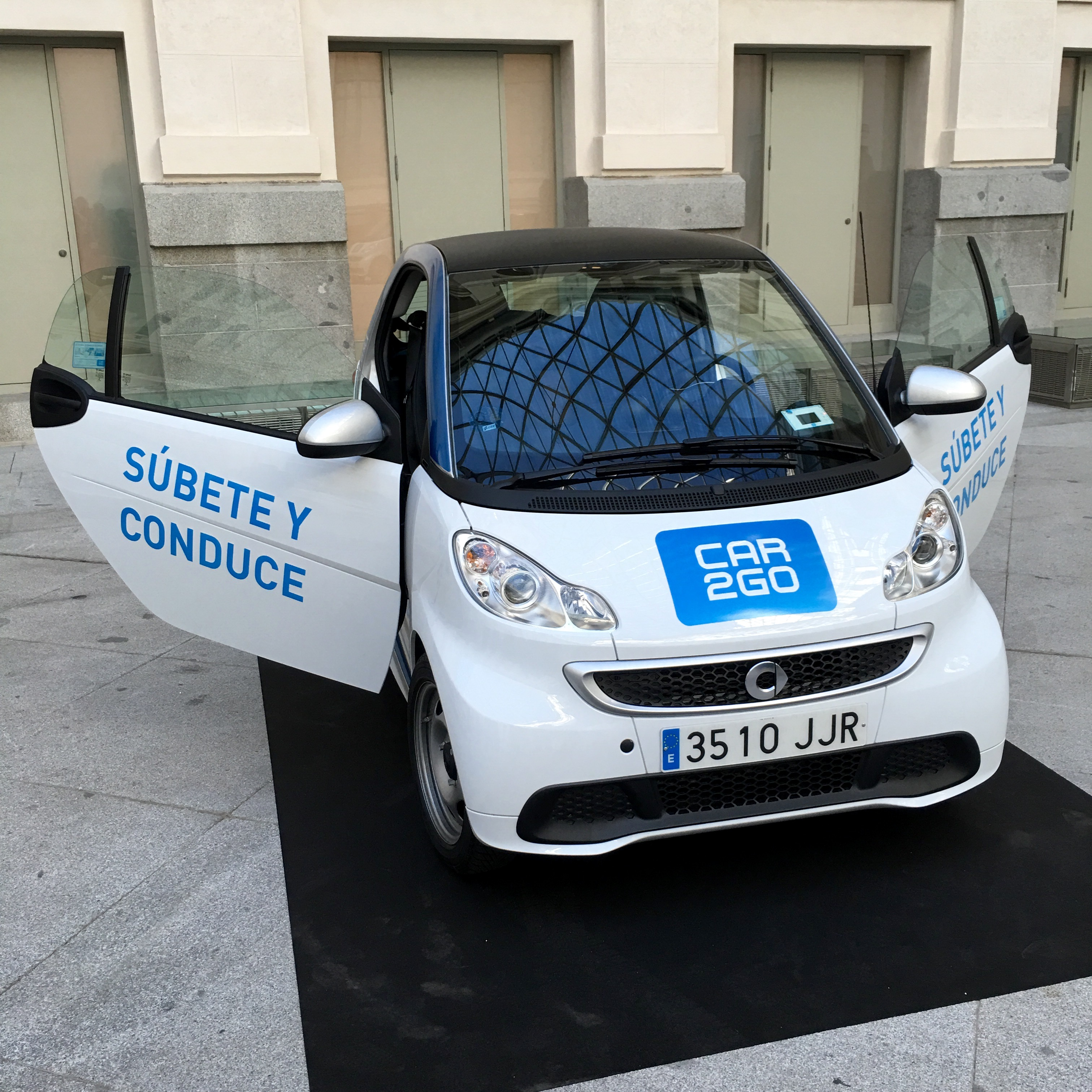 Car2go electric Smart