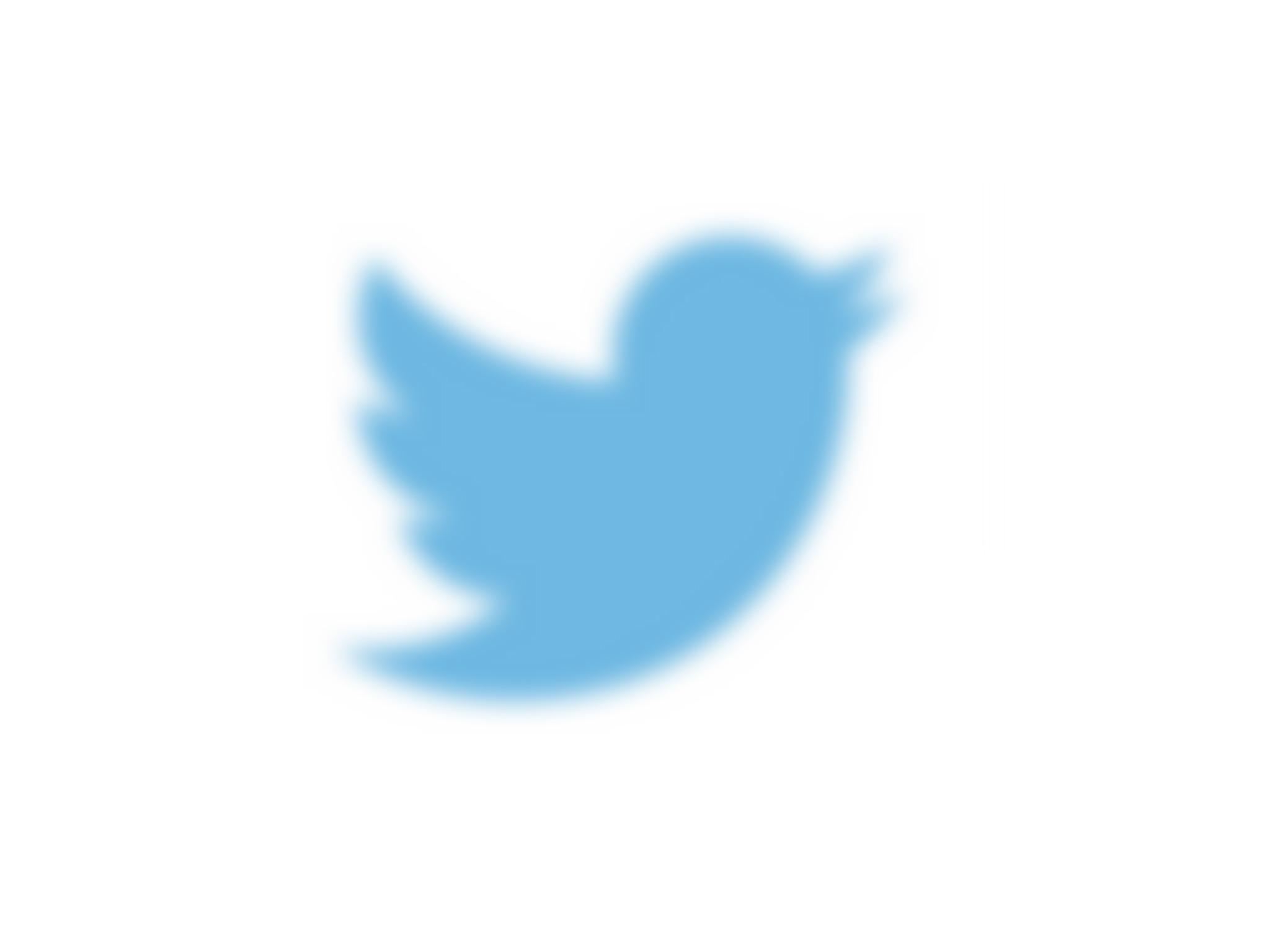 Twitter blurred