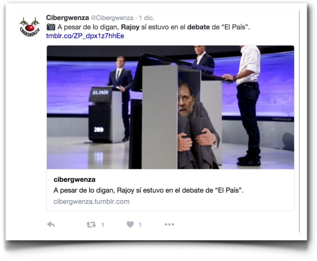 Ejemplo meme Rajoy