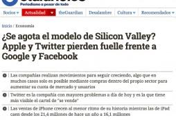Agotamiento Silicon Valley - ElDiario