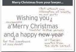 Merry Xmas lawyer