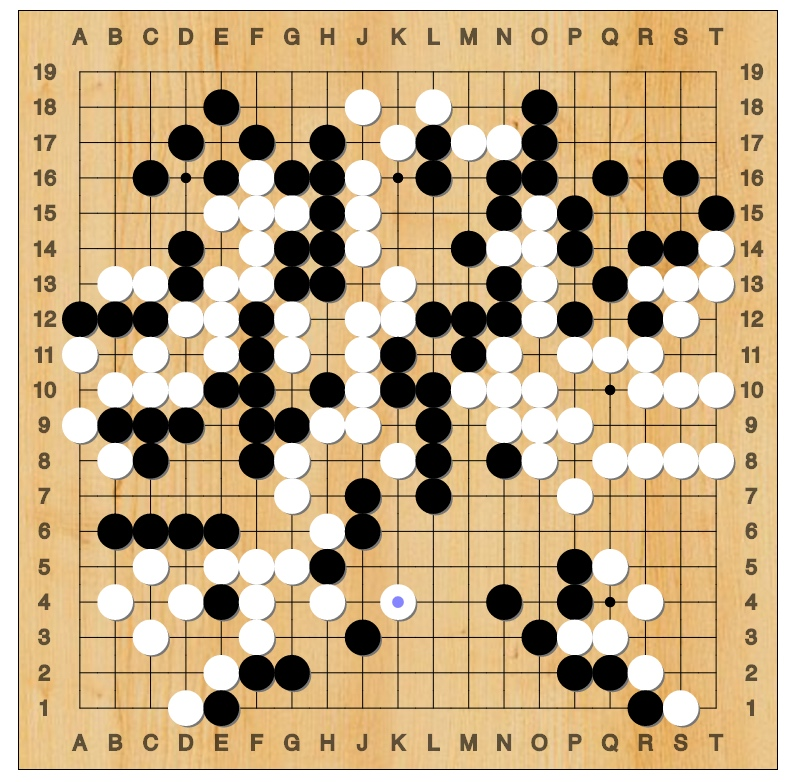 Lee Sedol vs AlphaGo - Game 4