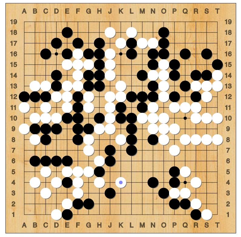 Lee Sedol vs AlphaGo - Game 4