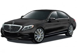 Mercedes-Benz S-Class sedan 2016 black