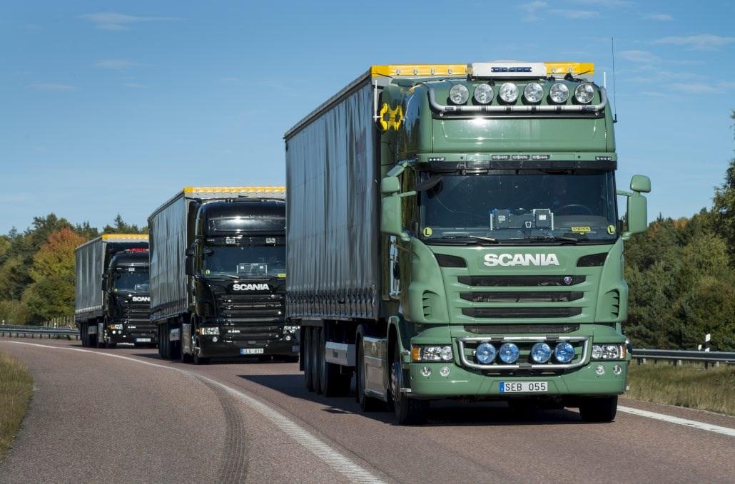 Platooning (IMAGE: EU Truck Platoon Challenge)