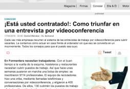 videoconferencias - XL Semanal