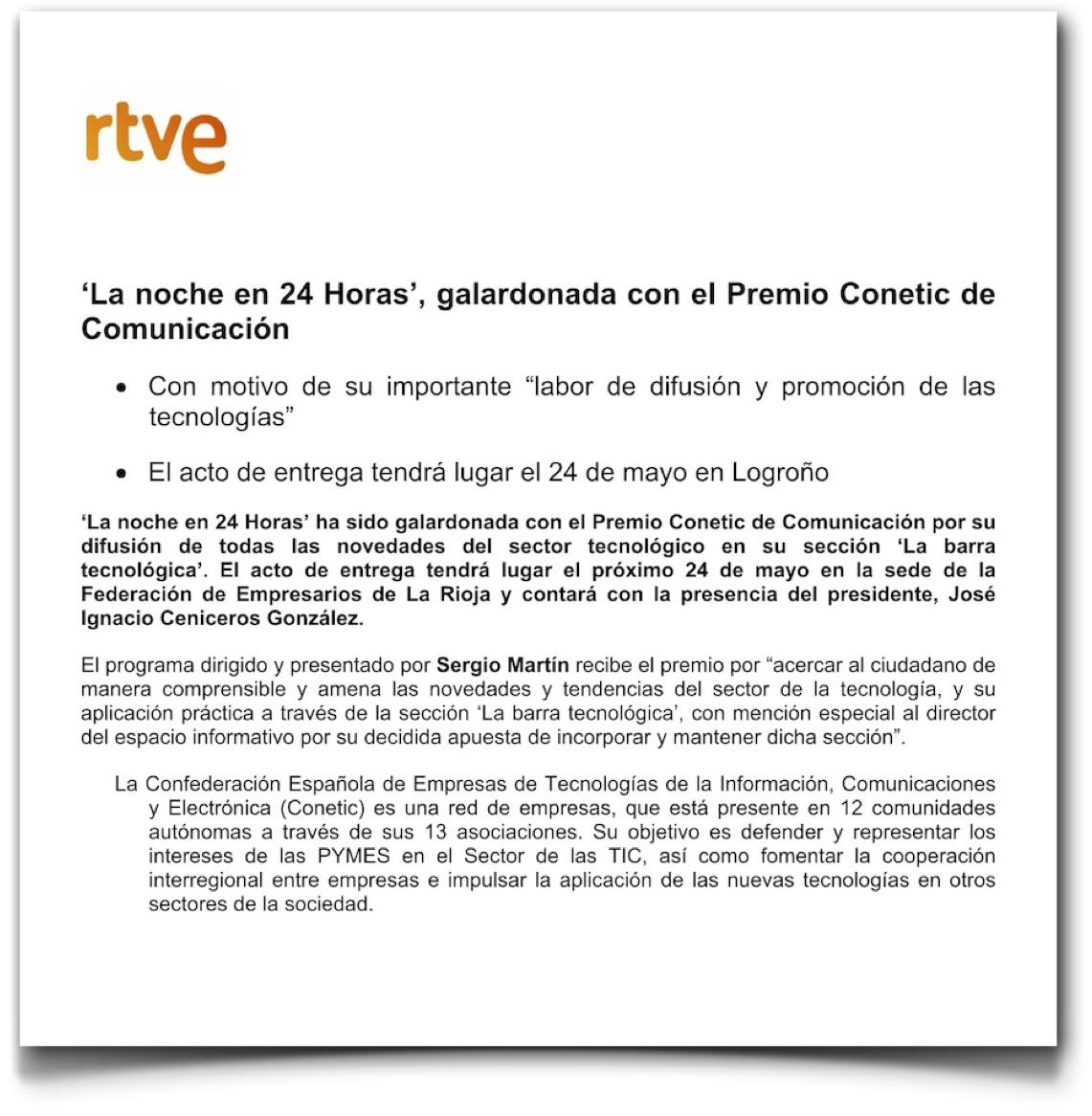 NP Premio Conetic