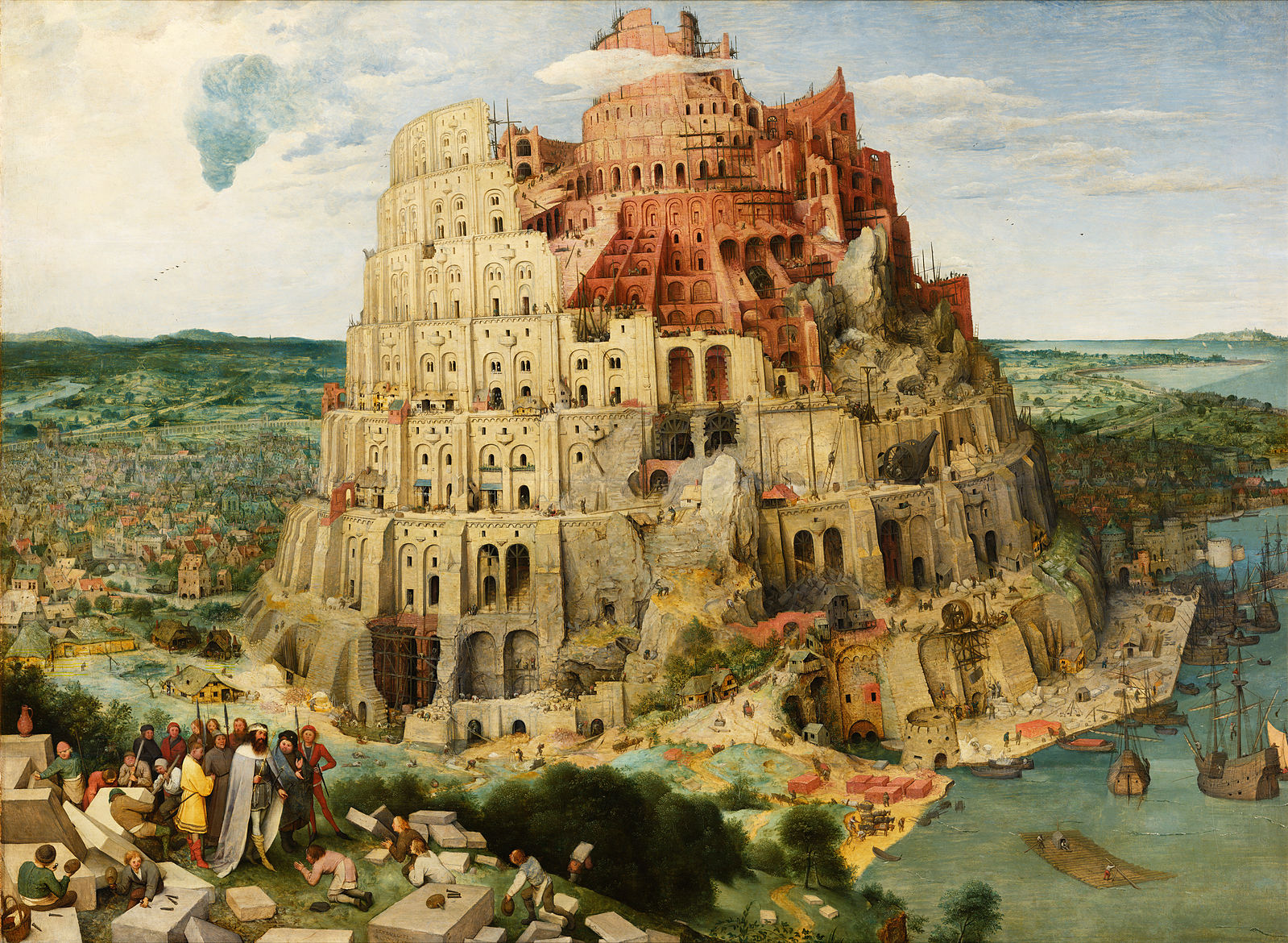 Pieter Bruegel the Elder - The Tower of Babel (SOURCE: Wikipedia)