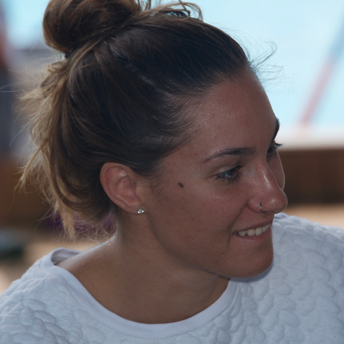 Sarai Gascón - (IMAGE: Susana Alosete)
