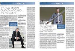 Entrevista - El Correo Gallego