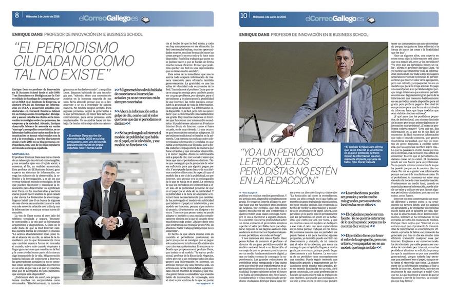El periodismo ciudadano como tal no existe - El Correo Gallego (pdf)