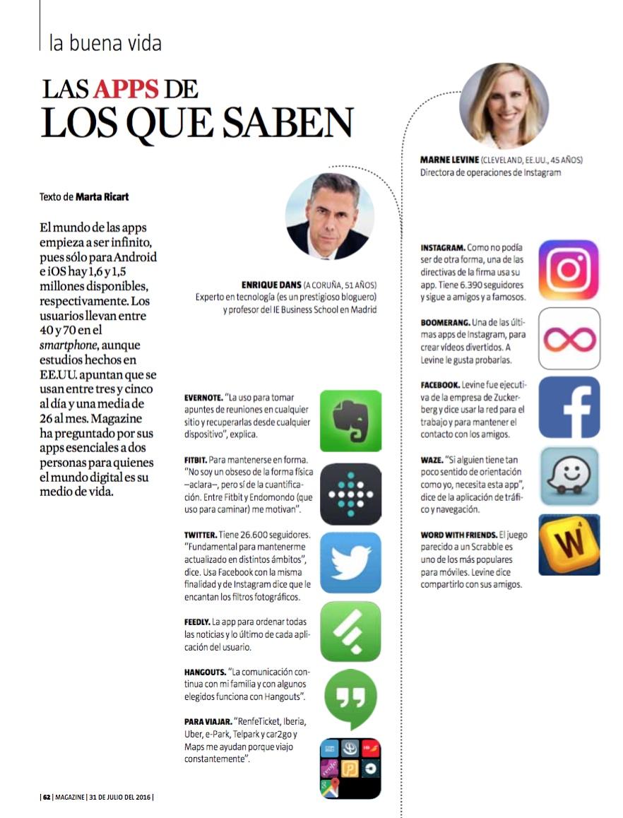 Las apps de los que saben - La Vanguardia (pdf)