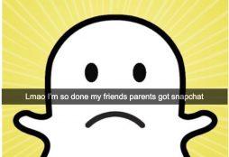 Sad Snapchat