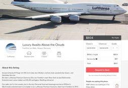 Lufthansa on Airbnb