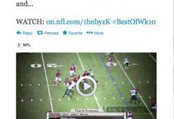 NFL tweet