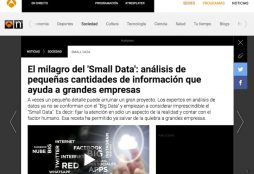 small data - Antena 3