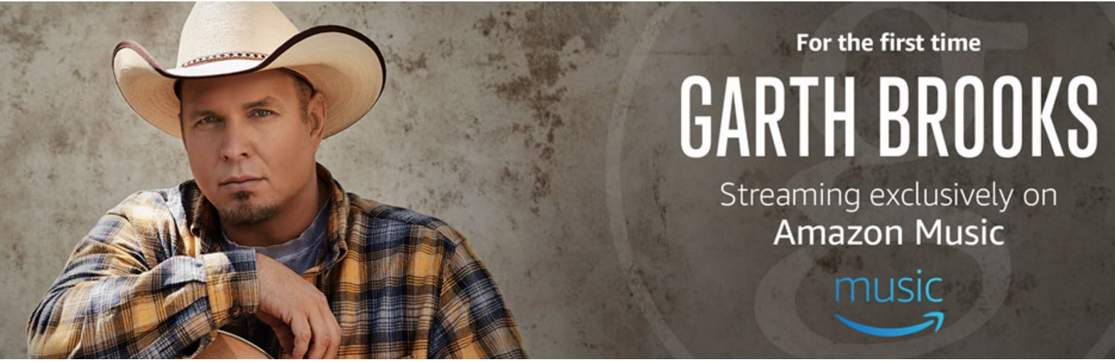 Garth Brooks exclusively on Amazon Music