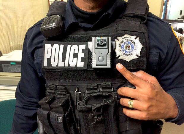 Police body-worn camera (IMAGE: Ewing Police Department)