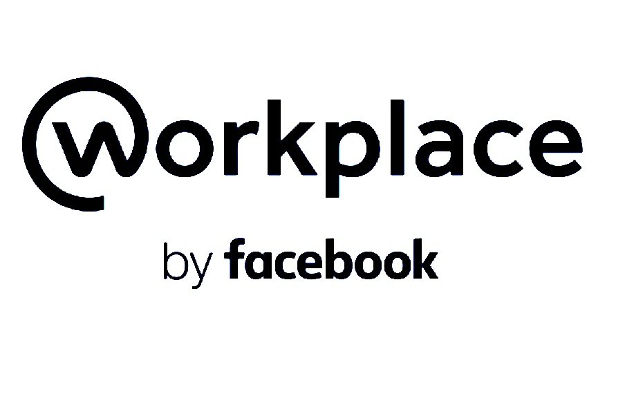 Workplace by Facebook (logo BW)